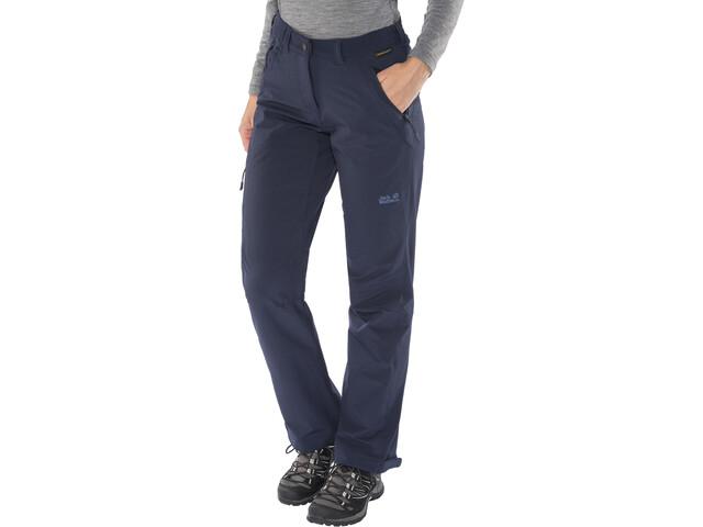 innovatief ontwerp super populair knap Jack Wolfskin Activate XT Pants Damen midnight blue